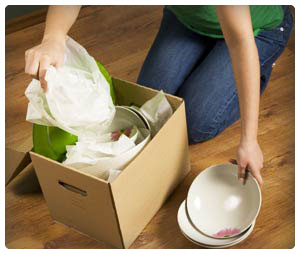 How to Pack Dishes