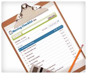 MovingGuru.com's Moving Checklist